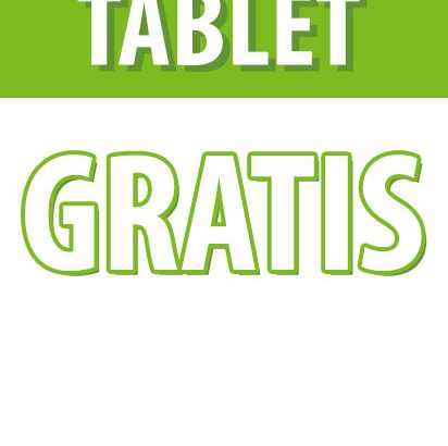 ¿Quieres una tablet?